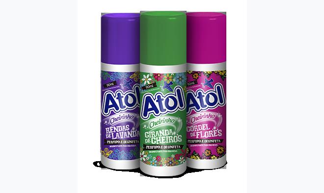 Desinfetante Perfumado Atol
