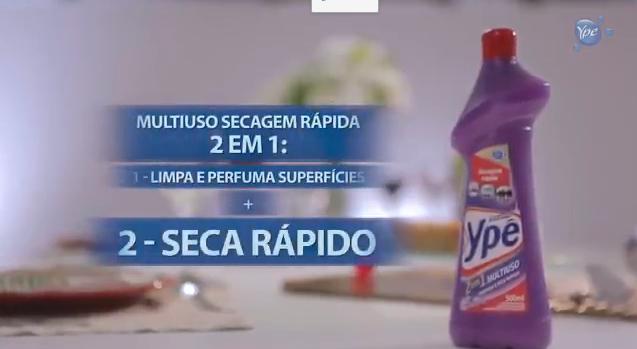 Como limpar o fogão com Multiuso Ypê
