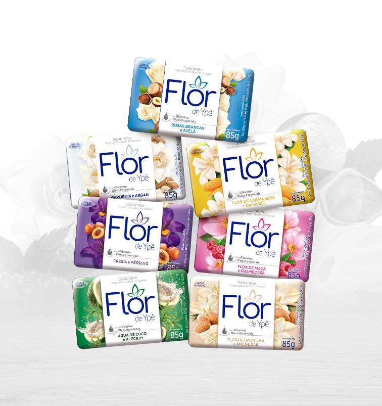Sabonetes Flor de Ypê