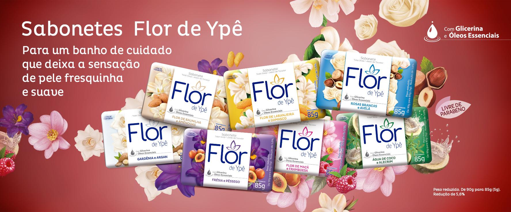 Sabonete Flor de Ypê
