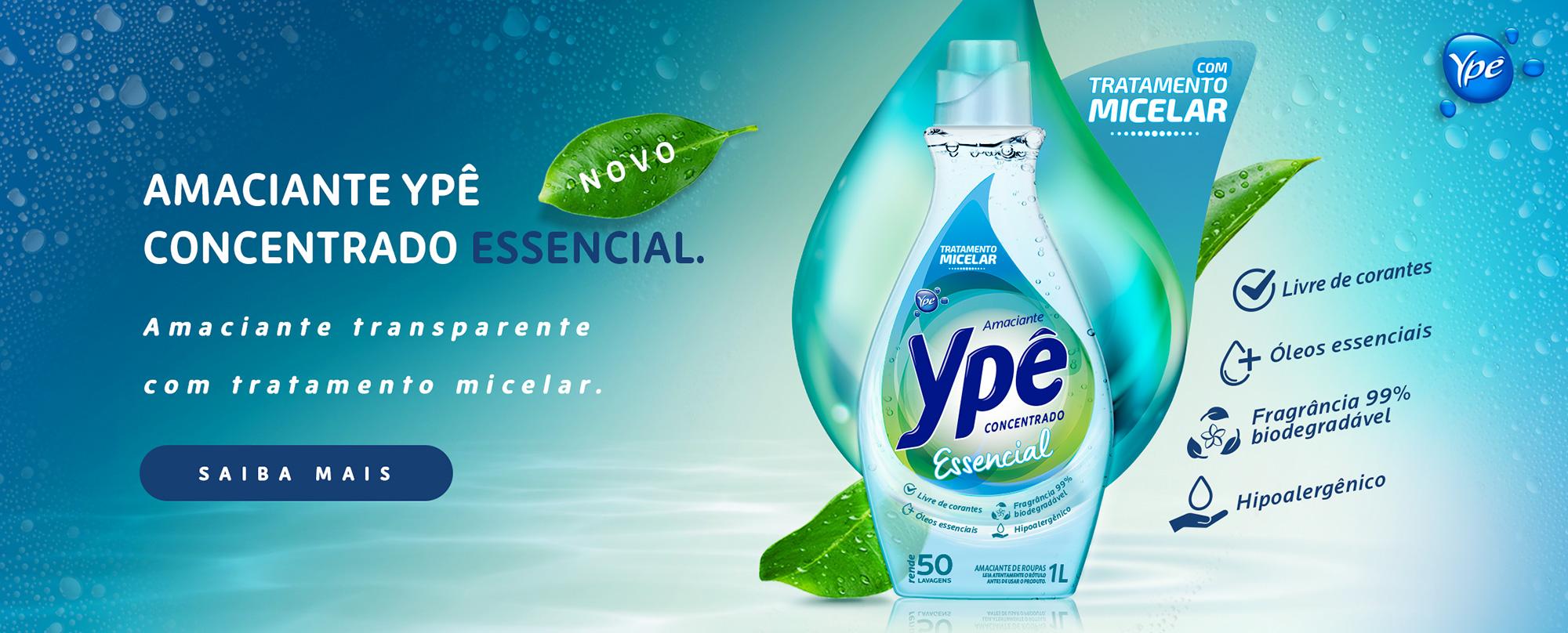 Amaciante Ype Essencial